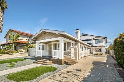 San Diego Multi Family 2-4 For Sale: 4767 Bancroft St