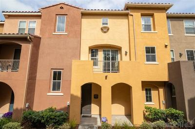Chula Vista Townhouse For Sale: 1883 Aquamarine #3