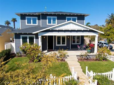 San Diego CA Single Family Home Pending: $1,975,000