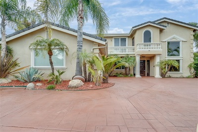 Single Family Home For Sale: 5765 Soledad Mountain Rd