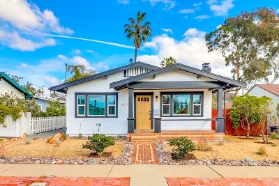 San Diego Single Family Home For Sale: 4577 New York St