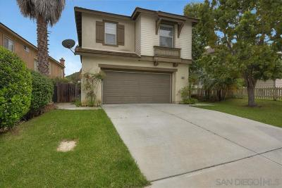 Carlsbad Single Family Home For Sale: 6853 Xana Way