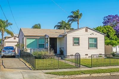 Chula Vista Single Family Home For Sale: 390 Vance