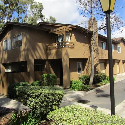 Santee Attached For Sale: 7447 Fortuna Vista Ct #32