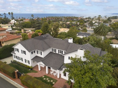 La Jolla Shores Single Family Home For Sale: 3 E Roseland