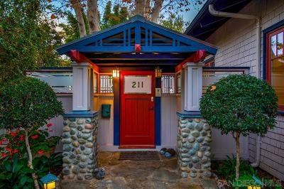 Hillcrest Single Family Home For Sale: 211 W Walnut Ave