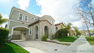Chula Vista Single Family Home For Sale: 1546 Quiet Trail Dr.