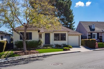 San Diego Single Family Home For Sale: 4365 Alder Dr