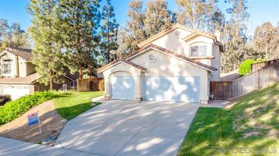 Temecula Single Family Home For Sale: 41451 Cour Beaune