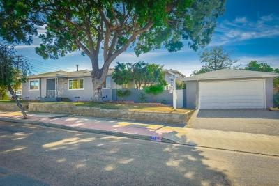 Chula Vista Single Family Home For Sale: 168 Lansley Wy