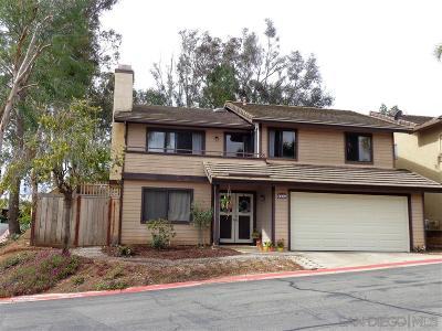 Escondido Single Family Home Sold: 2203 Firethorn Gln
