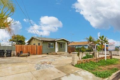 San Diego Single Family Home For Sale: 5246 Groveland