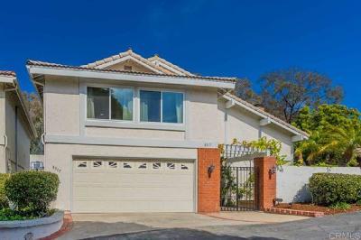 La Jolla Single Family Home Pending: 8317 Caminito Helecho