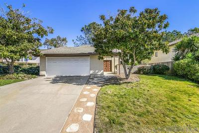 San Diego CA Single Family Home For Sale: $899,900