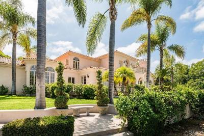 Single Family Home For Sale: 18136 Via Ascenso