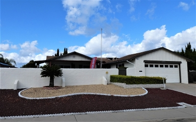 Single Family Home For Sale: 12360 Mantilla Rd
