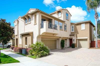 Carlsbad Townhouse For Sale: 3677 Jetty Pt