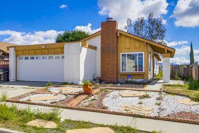 San Diego Single Family Home Contingent: 941 Marjorie Drive