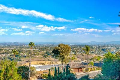 Single Family Home For Sale: 5645 Soledad Mountain Road