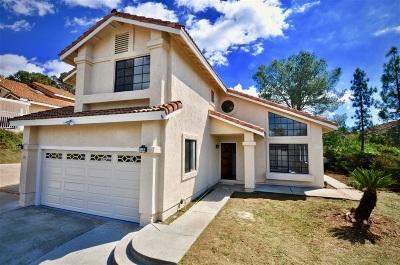 Escondido Single Family Home For Sale: 151 Bahia Lane