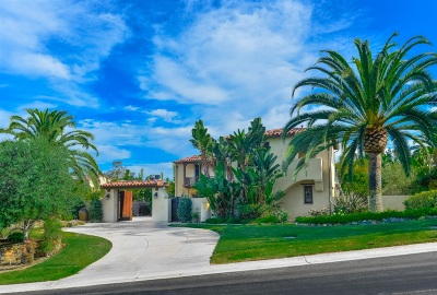 Encinitas Single Family Home For Sale: 1188 Via Zamia