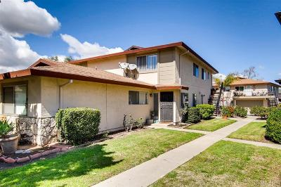 Santee Townhouse For Sale: 9846 Mission Vega Rd. #3