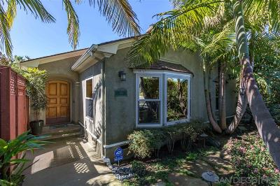 Single Family Home For Sale: 886 Cordova Street