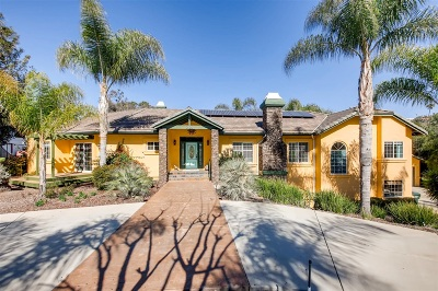 Vista CA Single Family Home For Sale: $925,000
