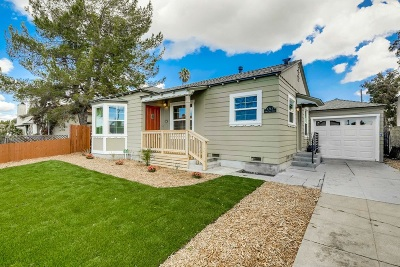 San Diego Single Family Home For Sale: 4763 36th Street