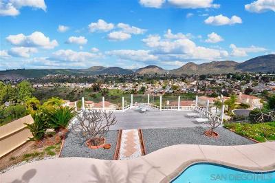 Del Cerro, Del Cerro Heights, Del Cerro Highlands, Del Cerro Terrace Single Family Home For Sale: 6354 Camino Corto