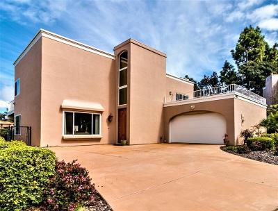 La Jolla Single Family Home For Sale: 7980 Via Capri