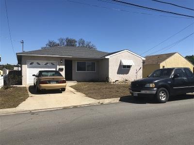 San Diego Single Family Home For Sale: 2925 Morningside Street