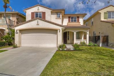 Single Family Home For Sale: 4524 Calle Mar De Armonia