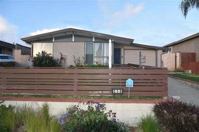 Oceanside Single Family Home For Sale: 314 S Clementine St