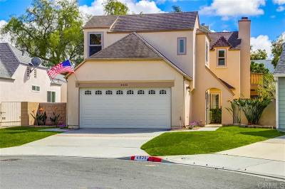 Carlsbad Single Family Home For Sale: 4535 Saint George Ct