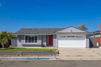 San Diego Single Family Home For Sale: 4072 Coleman Ave