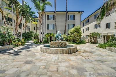 La Jolla Attached For Sale: 220 Coast Blvd #2E