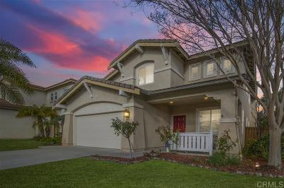 Chula Vista Single Family Home For Sale: 1397 Misty Ridge Pl