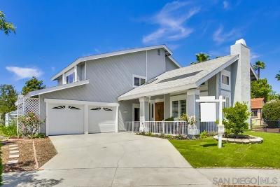 Escondido Single Family Home For Sale: 1626 Foxfire Pl