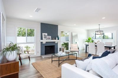 Solana Beach Single Family Home For Sale: 667 Solana Hills Ct.