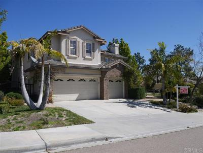 Chula Vista Single Family Home For Sale: 2529 Coyote Ridge Ter