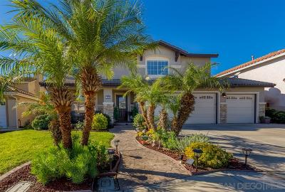 Chula Vista Single Family Home For Sale: 1468 Knollwood Pl
