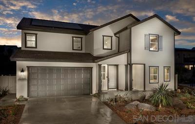 Escondido Single Family Home For Sale: 21739 Deer Grass Dr.