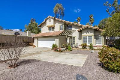 Escondido Single Family Home For Sale: 1528 Oak Hill Dr.
