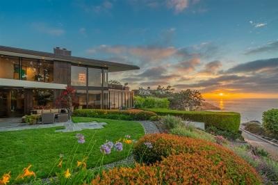La Jolla Single Family Home For Sale: 1585 Coast Walk