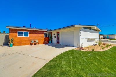 San Diego CA Single Family Home For Sale: $743,450