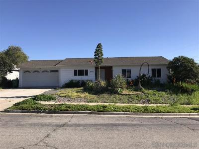 Santee Single Family Home For Sale: 9521 Rawlins Way