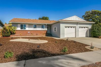 Chula Vista Single Family Home For Sale: 743 Beech Ave
