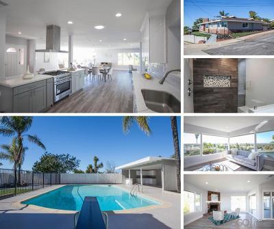 Del Cerro, Del Cerro Heights, Del Cerro Highlands, Del Cerro Terrace Single Family Home For Sale: 5802 Rockhurst