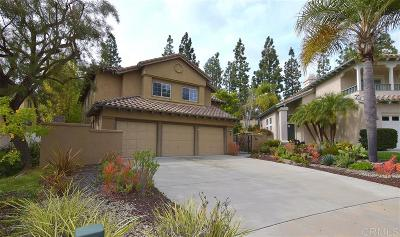 Carlsbad Single Family Home For Sale: 1710 Blackbird Cir